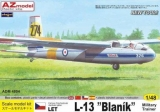 1/48 LET L-13 Blanik Military Trainer (4x camo)
