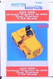 1/32 UNITED TRACTOR G-40C tow tractor (gasoline)