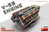 1/35 V-55 Engine (plastic set)