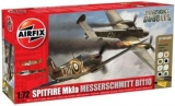 1/72  Dogfight Bf110C/D&Spitfire Mk.I NT