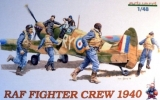 1/48  RAF WWII Pilots / Fighter Crew 1940