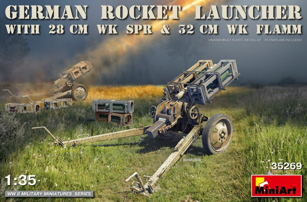 1/35 German Rock.Launcher (28cm WK Spr&32cm WK Fl)