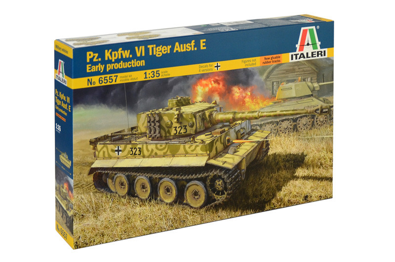 1/35   PzKpfw VI Tiger Ausf.E Early Prod.