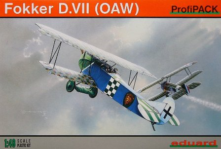 1/48  Fokker D.VII (O.A.W.) PROFIPACK (re-edition)