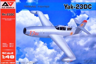 1/48 Yak-23DC Training Fighter (Romanian AF, 1956)