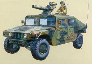 1/35  M-966 Hummer TOW