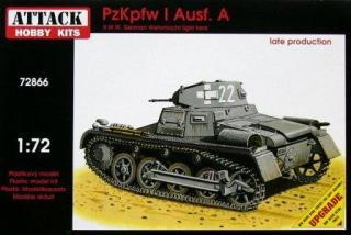 1/72 PzKpfw/ Ausf.A - Late Production