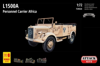 1/72 L1500A Personnel Carrier Africa (w/resin&PE)