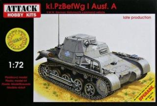 1/72 kl.PzBefWg I Ausf. A (SPECIAL EDITION)***