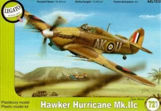 1/72 Hawker Hurricane Mk.IIc over Africa