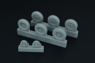 1/48 Spitfire 3-spoke wheels set (3 types)