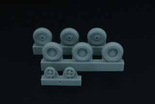 1/48 Spitfire 4-spoke wheels set (3 types)
