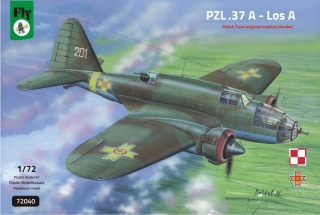 1/72 PZL-37A Los Polish Twin-engined Medium Bomber