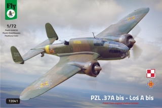 1/72 PZL-37A bis Los Polish Twin-engined Bomber
