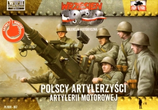 1/72 Polish Motorized Artillery 1939 (16 figures)