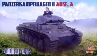 1/72 Panzerkampfwagen II Ausf.A (World At War)
