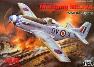 1/48 Mustang Mk.IVA RAF WWII Fighter