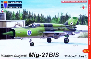 1/72 MiG-21bis 'Fishbed' (Cuba,USSR,India,Finland)