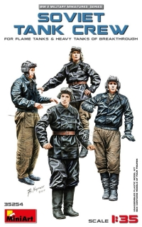 1/35 Soviet Tank Crew (Flame&Heavy Tanks,4 fig.)