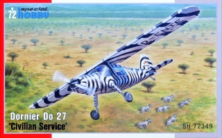 1/72 Dornier Do 27 'Civilain Service' (3x camo)