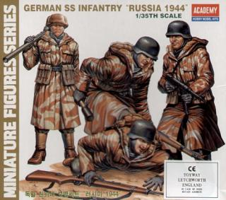 "1/35  German SS Infantry ""RUSSIA 1944""."