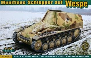 1/72 Munitions Schlepper auf Wespe