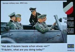 1/35 German military men, WWII era (6 fig.)