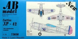 1/72 Curtiss XP-42