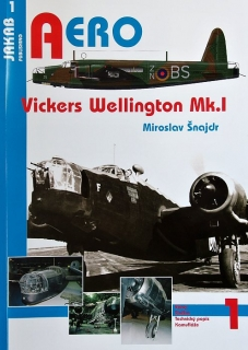 Publ. AERO - Vickers Wellington Mk.I (Czech text)
