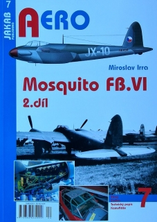 Publ. AERO - Mosquito FB.VI (Czech text) Vol.2