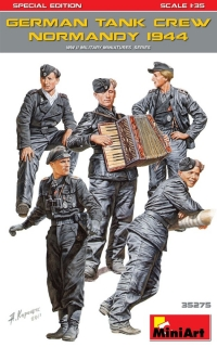 1/35 German Tank Crew, Normandy 1944 (Special Ed.)