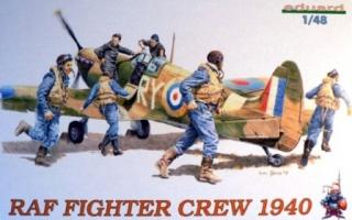 1/48  RAF WWII Pilots / Fighter Crew 1940***